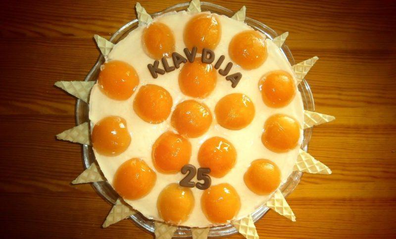 Božanska torta - imitacija jajce na oko