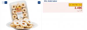 XXL linški keksi