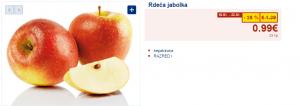 rdeča jabolka