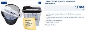 Modri prihranek 28 - Lidl - Izdelki za pisarno