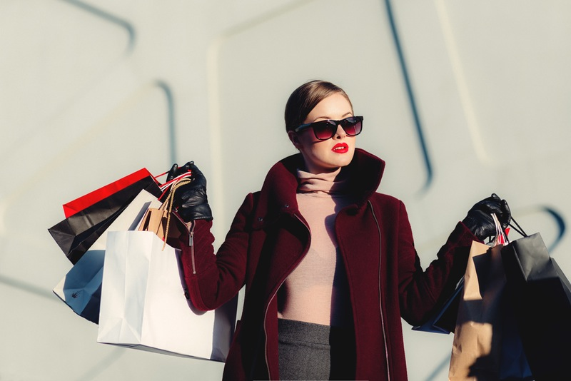 Nakupovalni vozički in nakupovalne vrečke