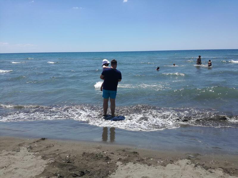 Plaža mojito - izberi modro družina