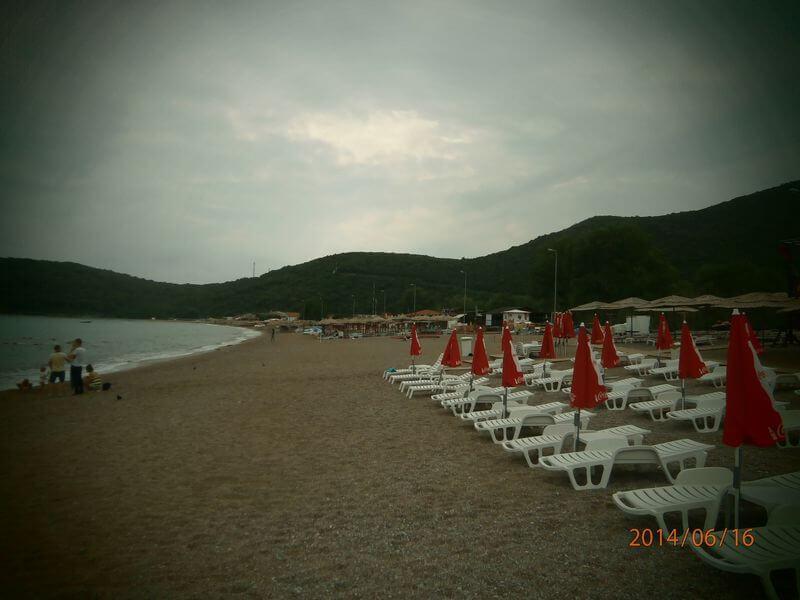 Plaže - črna gora - izberi modro