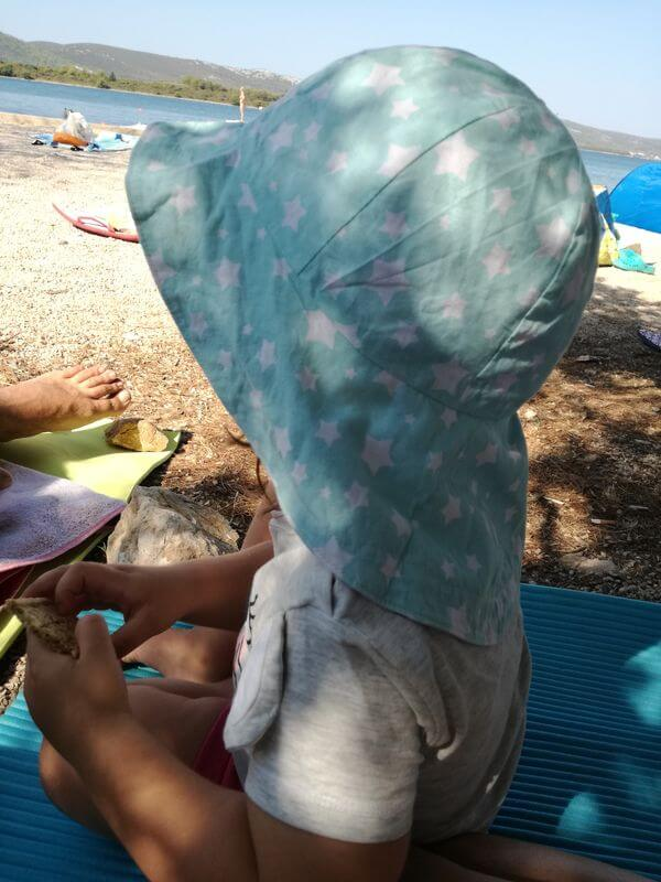 Plaža Turanj - Izberi modro družina