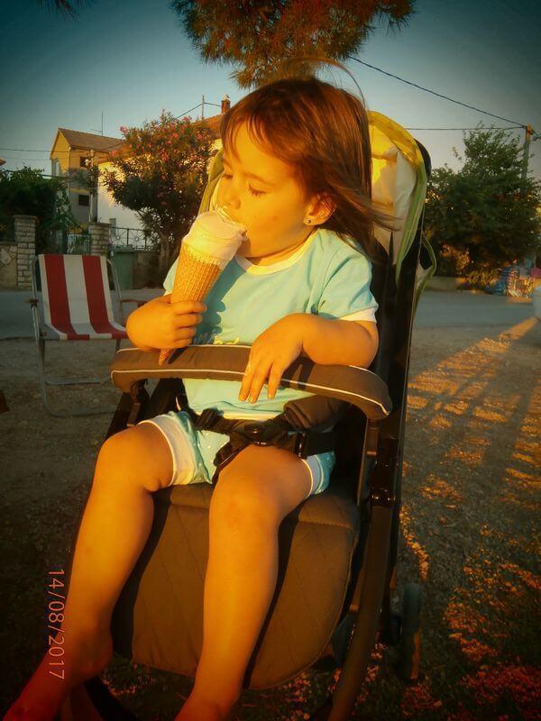Voziček marela - Izberi modro družina