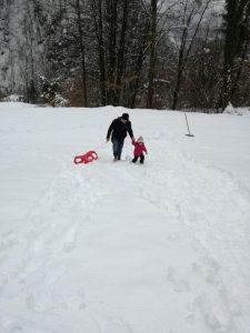 Zima - Izberi modro družina