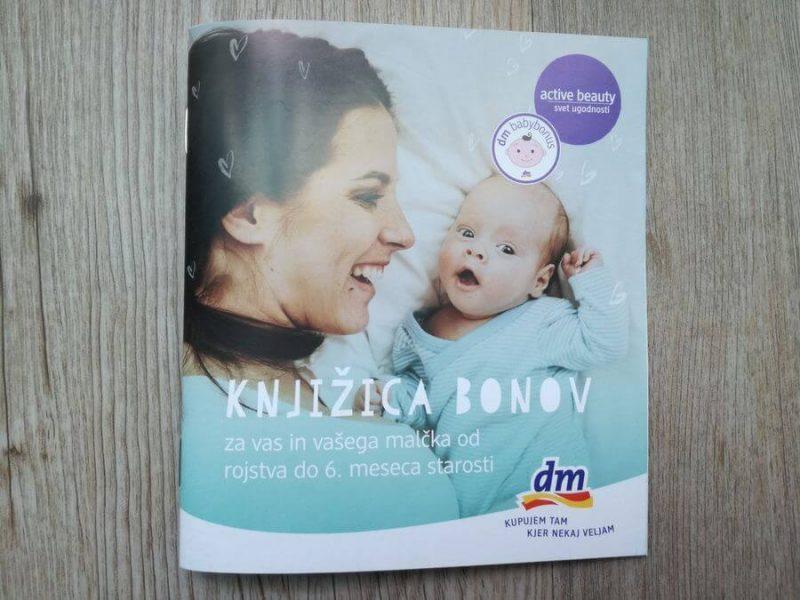 Dm babybonus 2018 – Knjižica bonov od 0 – 6 mesecev