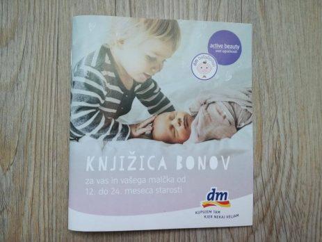 Dm babybonus 2018 – Knjižica bonov od 12 – 24 mesecev