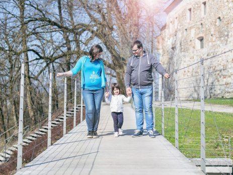 Dvojčka - sprememba načrtov - Izberi modro družina