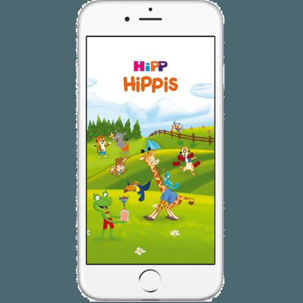 Hipp aplikacija za otroke