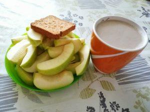 Sadna dieta - zajtrk
