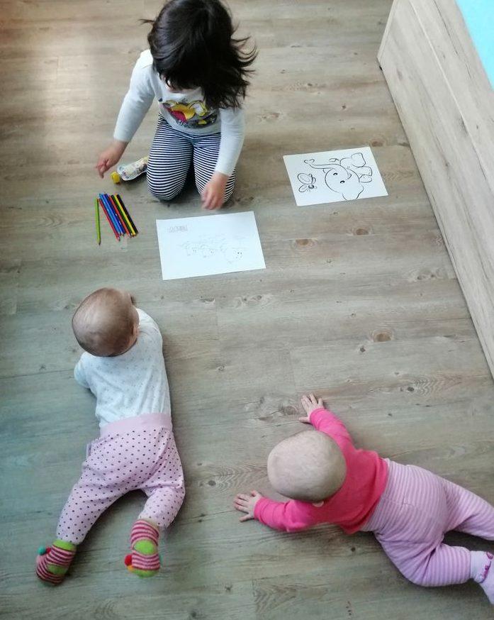 35. - 36. teden - Dojenčkov dnevnik - Izberi modro družina