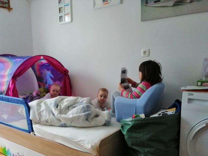 37. - 38. teden - Dojenčkov dnevnik Izberi modro družina