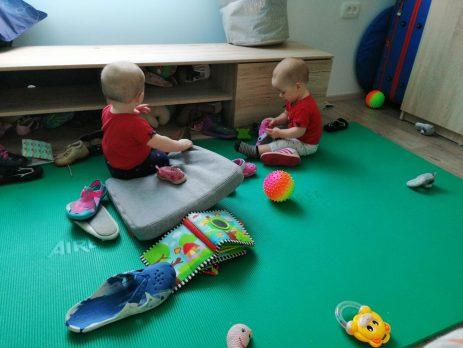 45. - 46. teden - Dojenčkov dnevnik - Izberi modro družina