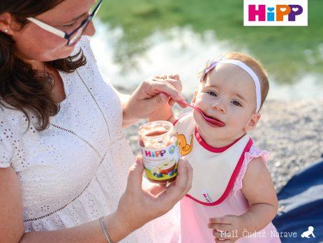 Uvajanje goste hrane dvojčici - Izberi modro družina