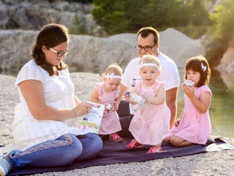 HiPP combiotic junior - Izberi modro družina