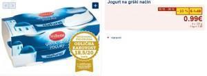 jogurt na grški način