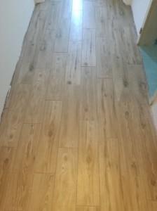 Končni izgled hodnika 1