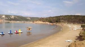 Oddih otok Rab (1) - plaža 2 v Loparju