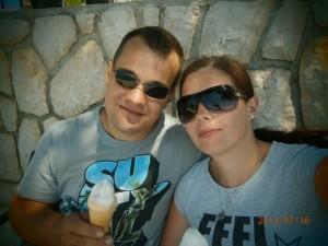 Oddih otok Rab (30) - najboljši sladoled v Barbatu