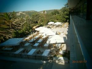 Oddih otok Rab (32) - skupna restavracija - terasa
