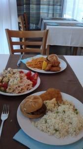 Oddih otok Rab (5) - hrana v restavraciji